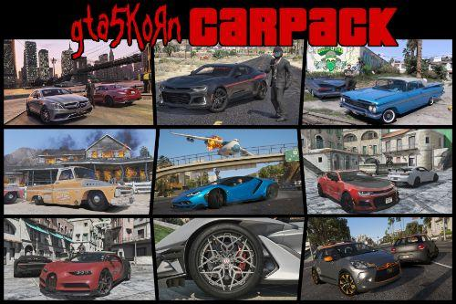 Gta5KoRn Car Pack (48 cars)